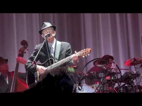 Leonard Cohen, Sisters of Mercy, Amsterdam 22-08-12 Another fantastic vid by Albert Noonan