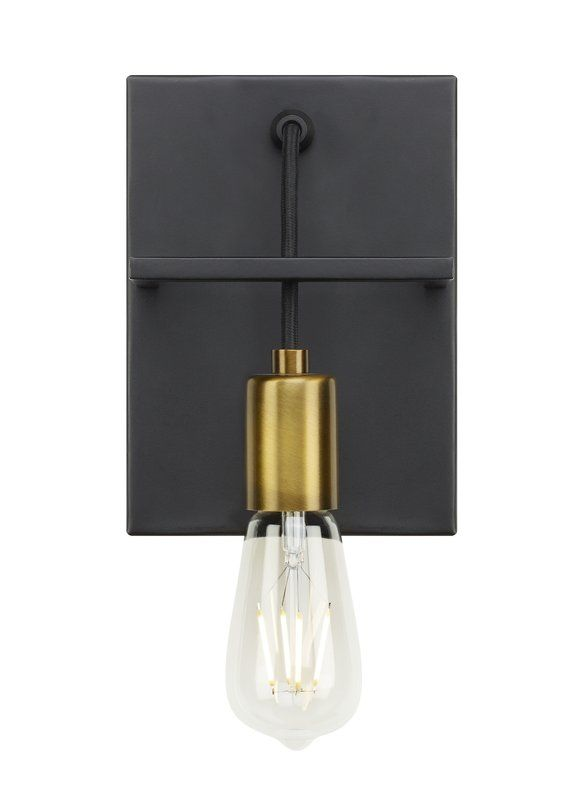 Usry Wall 1 Light Armed Sconce In 2020 Sconces Wall Sconces