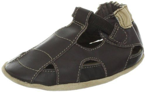 Robeez Fisherman Soft Sole Sandal (Infant) Robeez. $25.00. leather. Ultrasoft flexible leather. Leather sole. Made in China