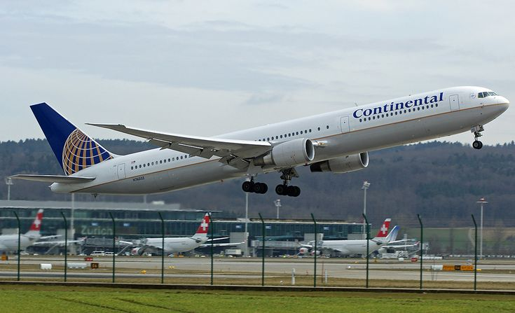 Continental Airlines Boeing 767-400ER