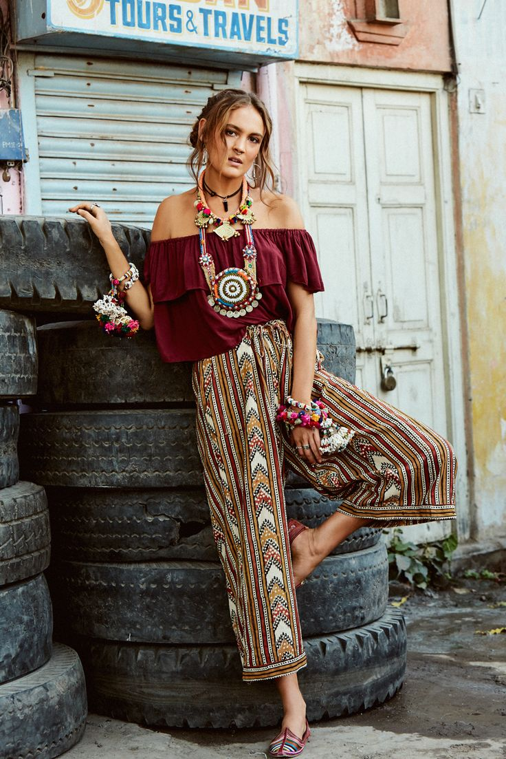 Hippie style in clothes and in life 43