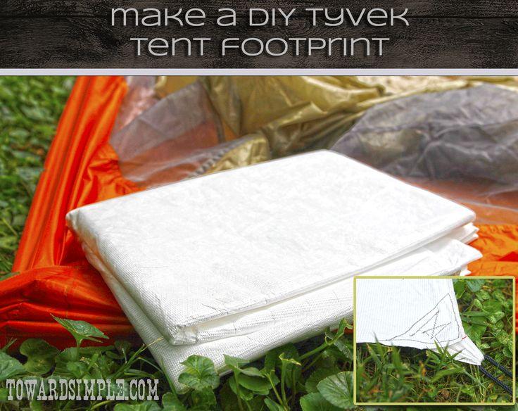 DIY Tyvek Tent Footprint Tutorial for c&ers and backpackers & Best 25+ Tent footprint ideas on Pinterest | Backpacking food ...