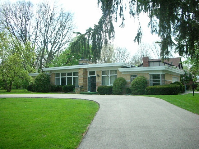 This Home Has Been Substantially Altered Since Photo Was Taken Mid Centuryexterior