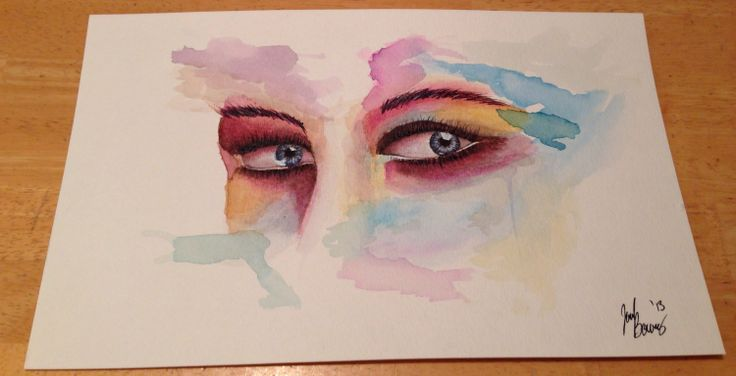 My latest watercolor painting.