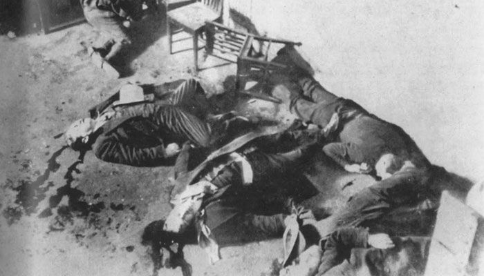 St Valentines Day Massacre, 1929