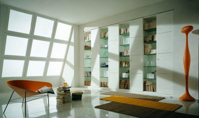 Стеклянные шкафы в интерьере | Colors.life