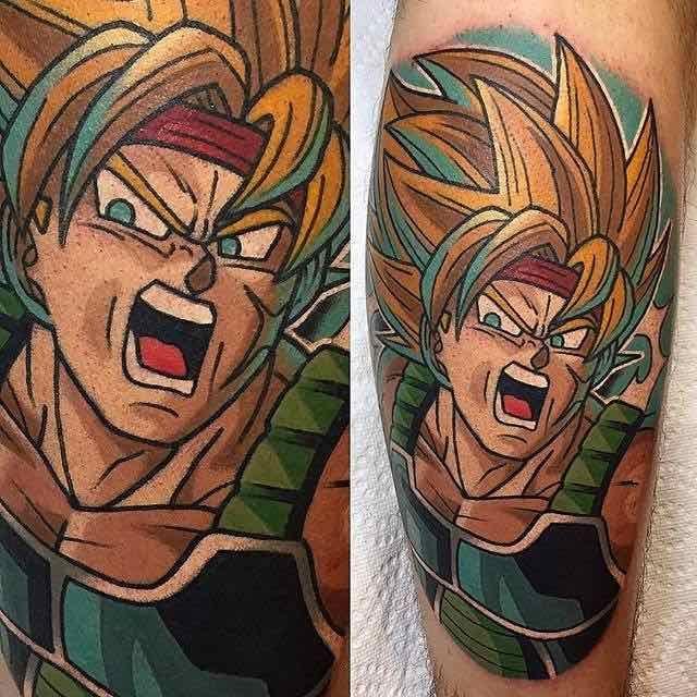 The Very Best Dragon Ball Z Tattoos Dragon Ball Tattoo Z Tattoo