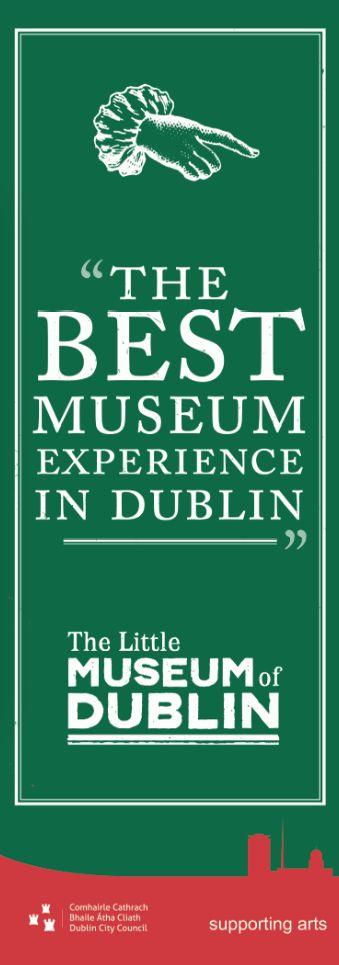 The Little Museum of Dublin on St Stephen's Green.