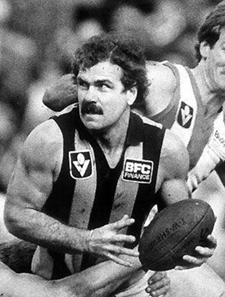 Legend - Leigh Matthews (Hawthorn). Games – 332. The toughest player of his era, he could turn a game in a flash. Few players were as capable of lifting another gear so regularly and destroying opponents.