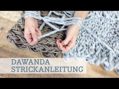Arm-Knitting: Stricken mit den Armen - in 30 Minuten zum Schal
