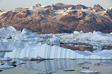 Greenland's ice sheet: Climate change outlook gets a little more dire. -- Christian Science Monitor -- 3/12/2012
