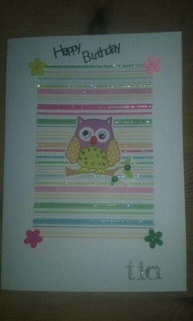 Girlie birthday cards
