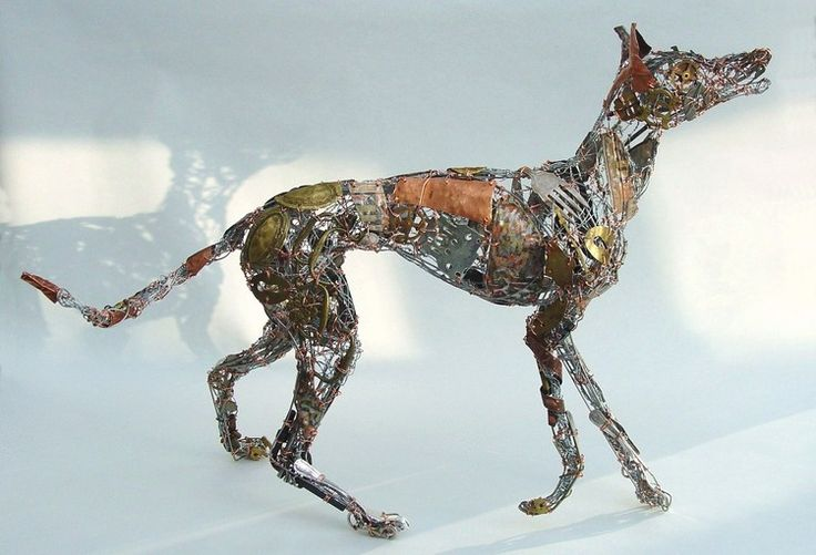 72 best Barbara Franc - Sculptor - Amazing - Recycled, discarded ...