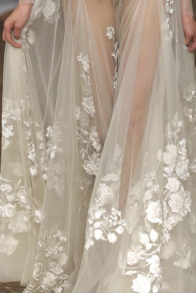 Alexander McQueen lace details #wedding