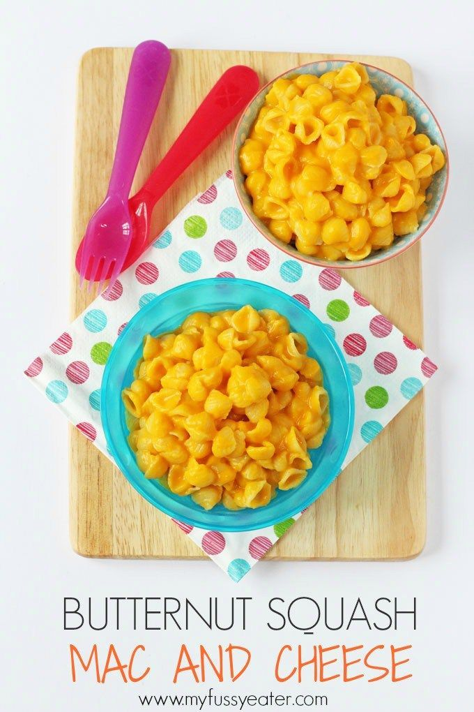 Sneak some veggies into your kids meal with this delicious Butternut Squash Mac and Cheese recipe. Great for toddlers and baby weaning too! | My Fussy Eater blog (eid meals macaroni and cheese)
