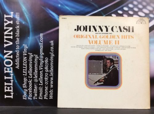 Johnny Cash Original Golden Hits Volume II LP SUN101 Country & Western 70's Music:Records:Albums/ LPs:Country