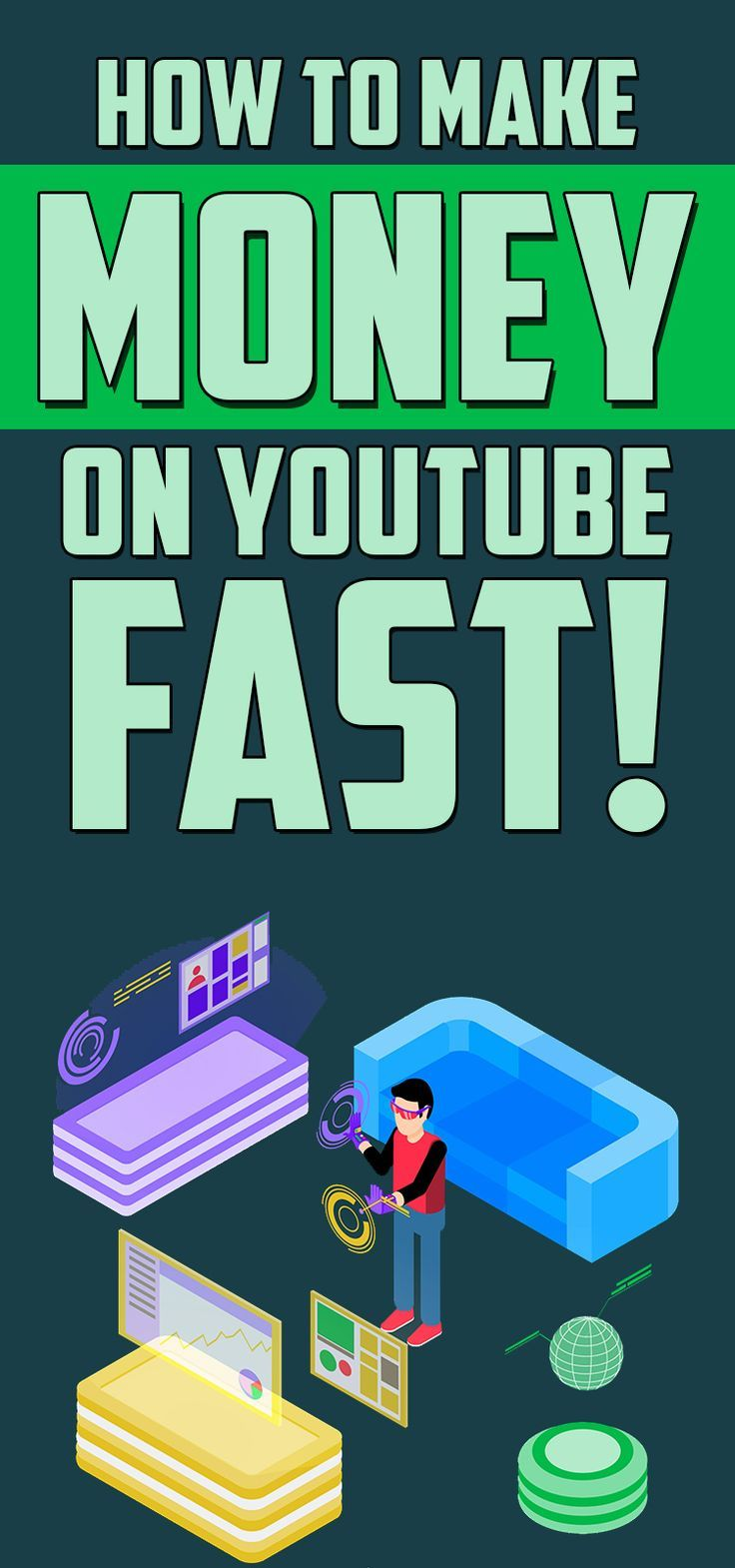 Learn how to make money on youtube fast Learn how to