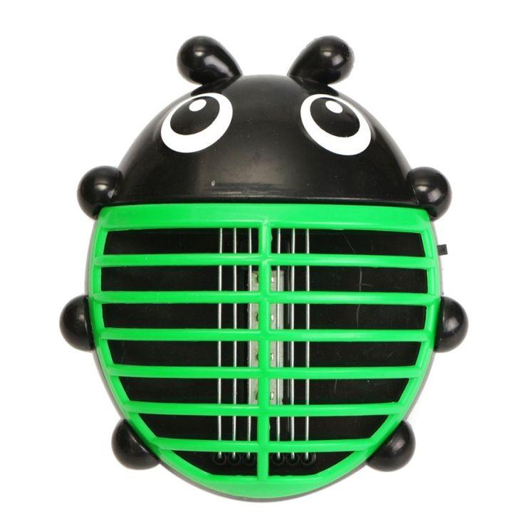 สินค้ามาใหม่<SP>Ladybird Shape Mosquito Zapper Killer Fly Bug Insect Pest Trap Seize LED Lihgt Green - Intl++Ladybird Shape Mosquito Zapper Killer Fly Bug Insect Pest Trap Seize LED Lihgt Green - Intl Material: ABS (Acrylonitrile Butadiene Styrene) + Electronic Component Wattage: 5W Voltage: 110-240V Size(L* ...++