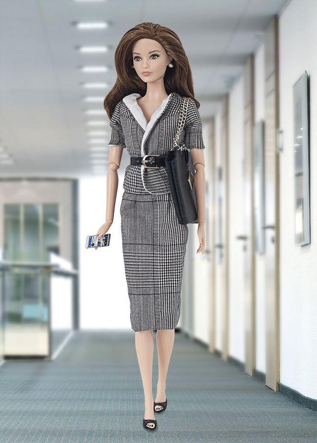 Barbie ropa y accesorios: Barbie en la oficina