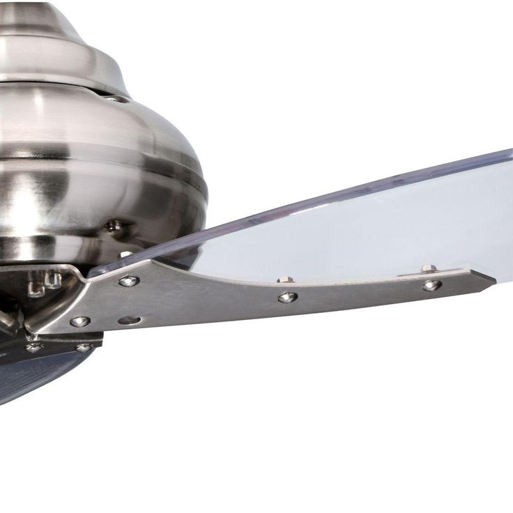 Hampton Bay Florentine IV 56 in. Brushed Nickel Ceiling Fan with Wall Control AC299-BN at The Home Depot - Mobile