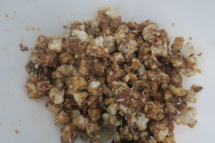 Recept: Gezonde gepofte rijstrepen (no bake) maak gezonde gepofte rijstrepen op een hele simpele, gezonde en lekkere manier!