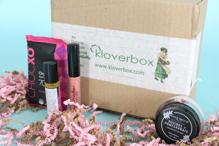 Kloverbox Review February 2018 https://www.ayearofboxes.com/subscription-box-reviews/kloverbox-review-february-2018/