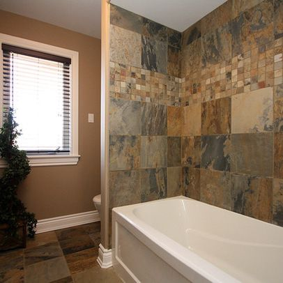 Painting Bathroom Tiles And Baths 10 best bathroom slate ideas images on pinterest | bathroom ideas