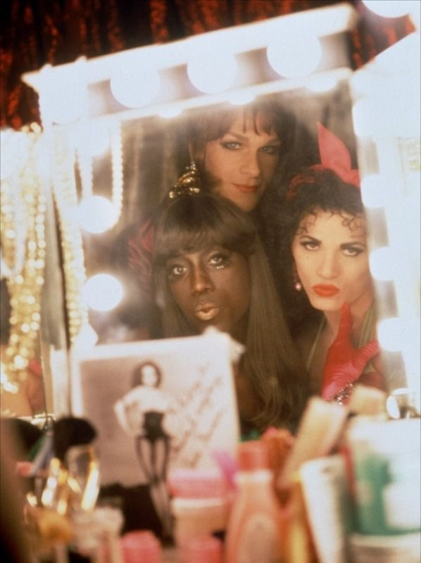 """There's """"a Patrick Swayze, Wesley Snipes and John Leguizamo trio"""" in this pic taken from the film """"To Wong Foo, Thanks For Everything, Julie Newmar"""" . The award of most succesful transformation ever in the history of cinema goes to these guys (or girls maybe?...) Patrick Swayze (R.I.P.) shows one of his best performances in this movie. Snipes and Leguizamo are also great. Those who enjoyed """"Priscilla the Desert Queen"""", this comedy could be the next best thing."""