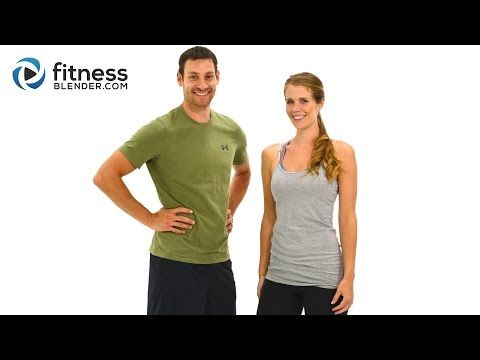 Day 2: Fitness Blender's 5 Day Workout Challenge to Burn Fat & Build Lean Muscle - YouTube