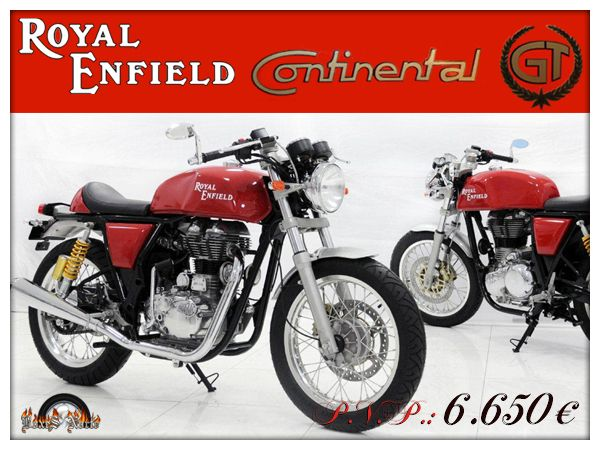 #RoyalEnfield Continental GT #motorcycle #REContinentalGT