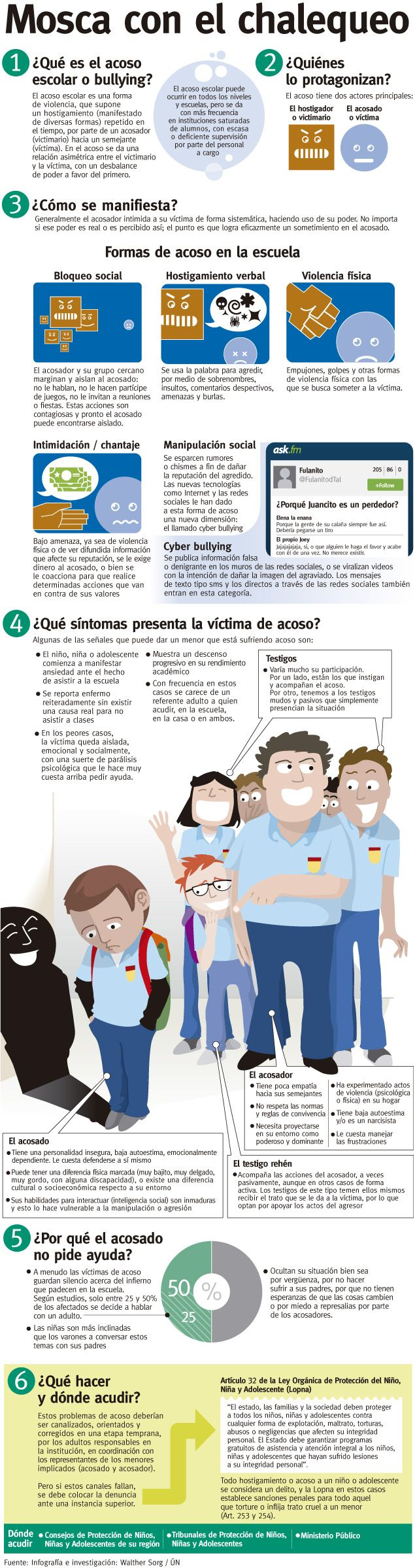 acoso escolar o bullying                                                                                                                                                                                 Más