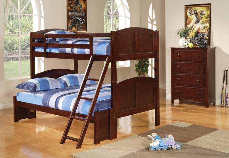 My father just bought our son Winson one of these. WOW was he surpised when he got home!: Cappuccinos Finish, Parker Twin, Bunk Beds, Boys Rooms, Full Bunk, Beds Storage, Bunkbeds, Coasters, Kids Rooms