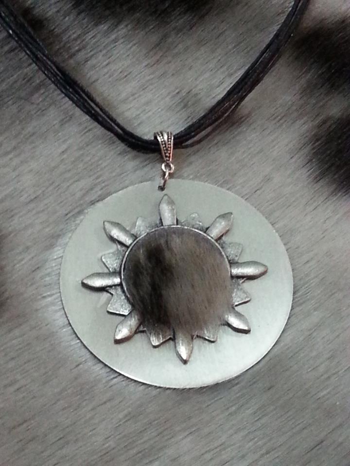 Sealskin pendant photo via Sealed with a kiss
