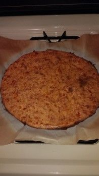 Some of you may be averse to using pork rinds, but I promise you, you wont taste them in this recipe. The pork rinds mainly act as a binder for the pizza crust and there are virtually NO carbs! I will never EVER go back to regular pizza dough again! To make the pizza topping as low as possible in carbs, I made the topping as a white pizza - sauteed spinach, seasoned pan roasted chicken and mushrooms. This should satisfy every low-carb eaters pizza craving.