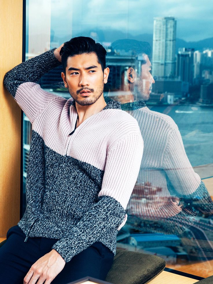 Godfrey Gao // Elle Men HK August 2016