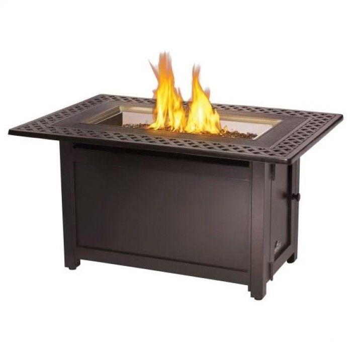 Napoleon Victorian Bronze Gas Fire Table, Rectangular