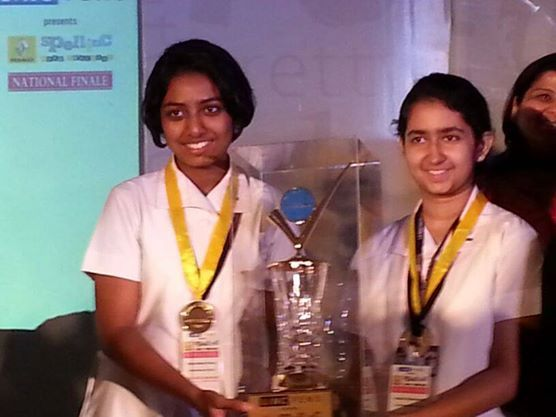 The Winner of Renault Spellinc National Finale - La Martiniere for Girls-Kolkata — at The Park Hotel.