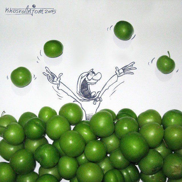 تلفيق عكس كاريكاتور
