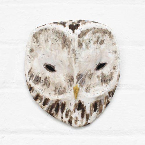 Image of URAL OWL - Paper Mâché Head