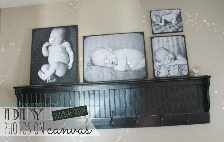 Blissfully Ever After | DIY Canvas Prints | www.blissfullyeverafter.net