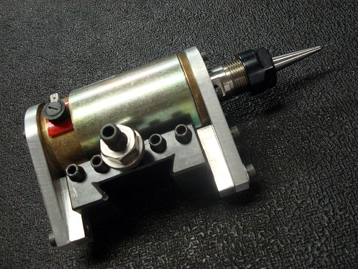QCTP drill attachment made for ORAC CNC lathe.