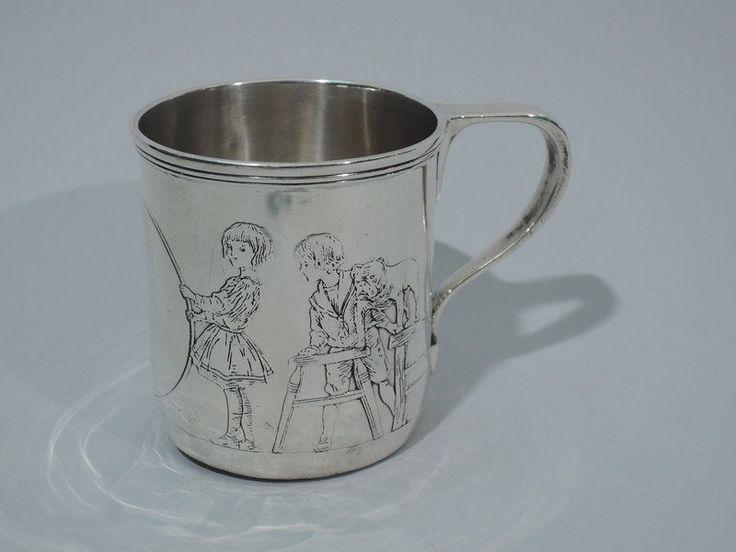 Tiffany Mug 4105b1 Christening Baby Cup American