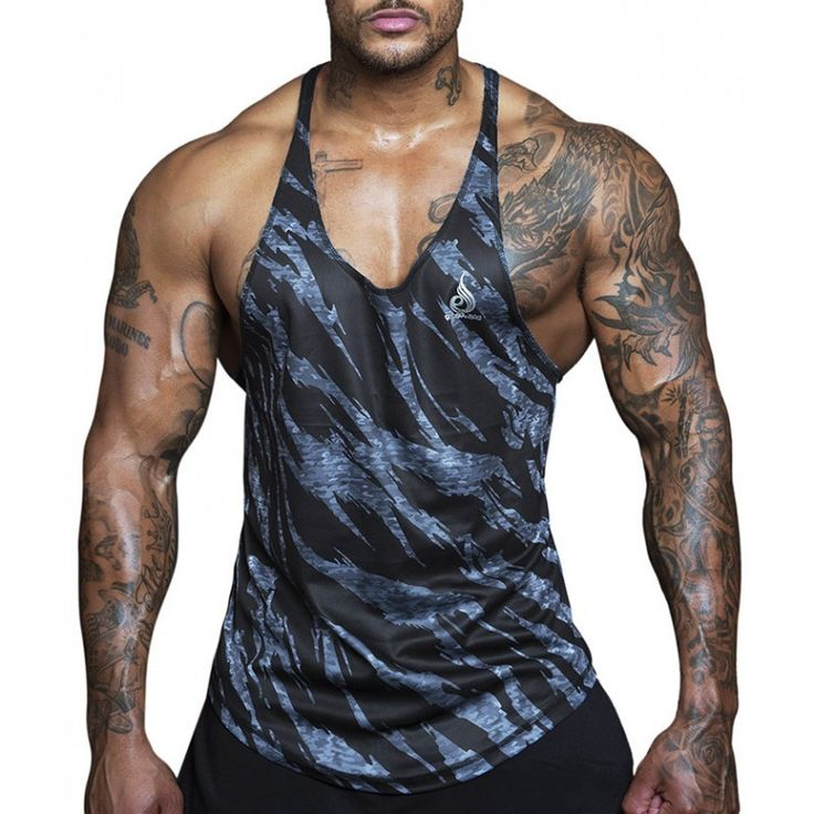 Best YEMEKE Quick dry 2017 summer Singlets Camouflage Tank Tops Shirt Bodybuilding Equipment Fitness Men s size. Click visit to check price