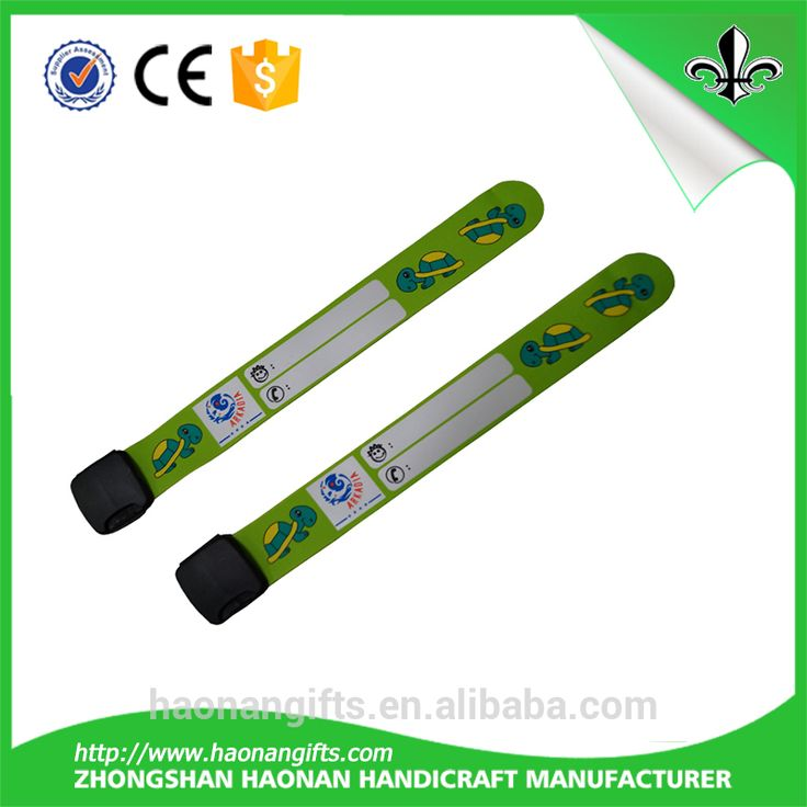High quality safety hospital patient id wristbands for