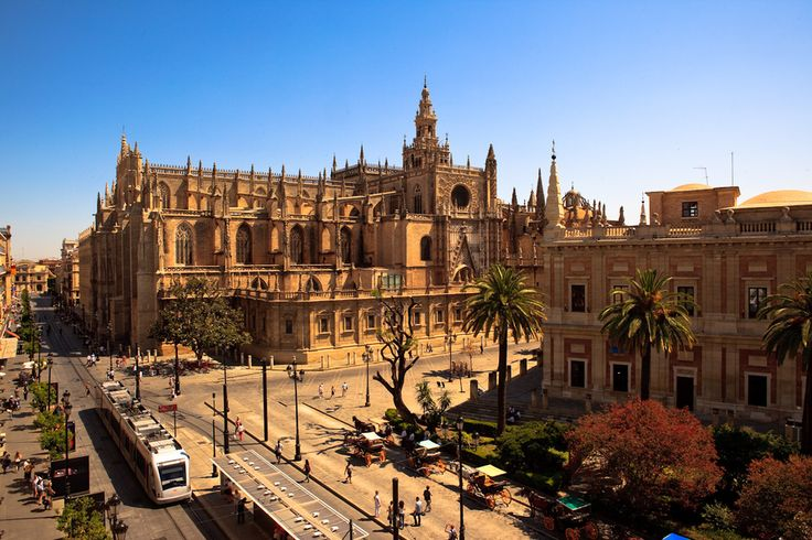 Seville's Cathedral & Alcázar (Spain) - I spent Easter Sunday here in high school :)