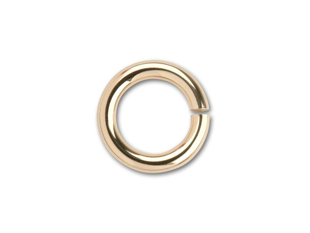 14K/20 Gold-Filled Open Jump Ring 5.8mm x .040 inches
