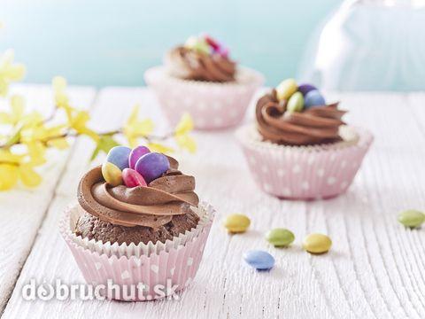 Cupcake s lentilkami