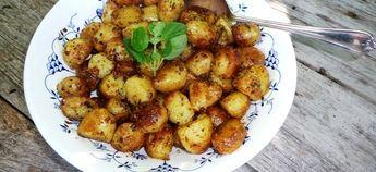 Griekse Gebakken Aardappelen Met Knoflook, Oregano En Citroen recept | Smulweb.nl