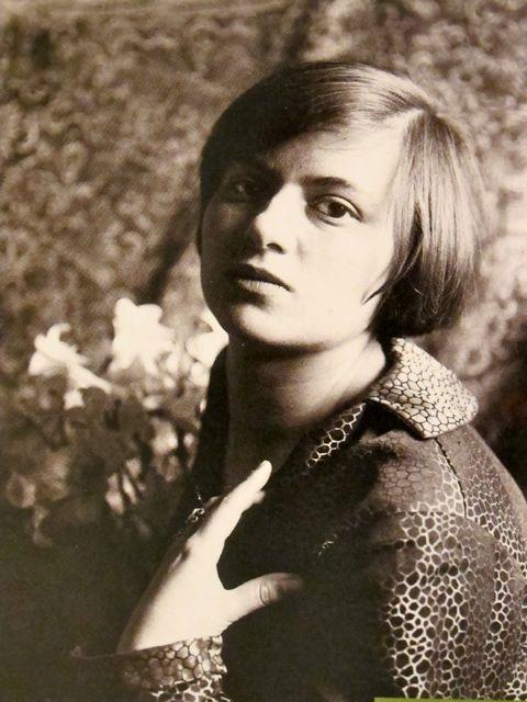 Marianne Brandt (1893-1983) German painter, sculptor, photographer and designer. In 1928 she became head of the Bauhaus metal workshop.