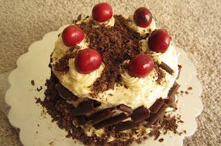 Black forest chocolate cherry cake - http://www.mytaste.in/r/black-forest-chocolate-cherry-cake-4913070.html